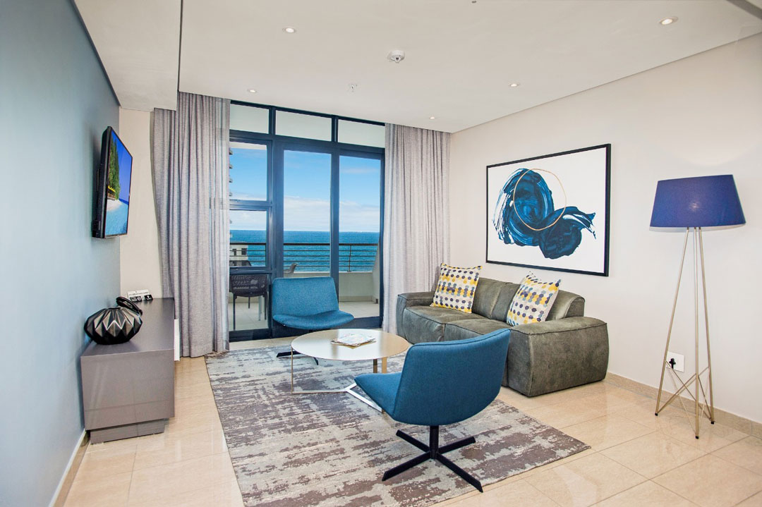 The Capital Pearls 2 Bedroom Apartment lounge